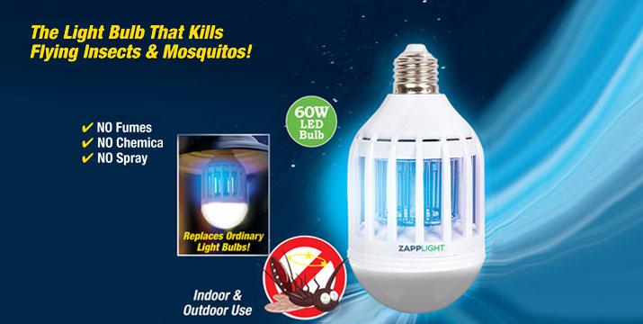 8,90€ από 19,90€ (-55%) για ένα Ηλεκτρικό Εντομοκτόνο- Εντομοπαγίδα Κουνουπιών Λάμπα LED 60W, με παραλαβή από το κατάστημα Magic Hole στο Παγκράτι και με δυνατότητα πανελλαδικής αποστολής. εικόνα