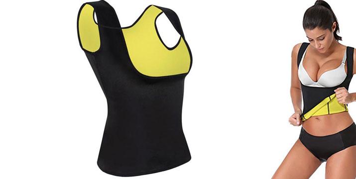14,90€ για μια γυναικεία αμάνικη Μπλούζα Εφίδρωσης και Αδυνατίσματος, από την DoneDeals Goods με ΔΩΡΕΑΝ πανελλαδική αποστολή στο χώρο σας.