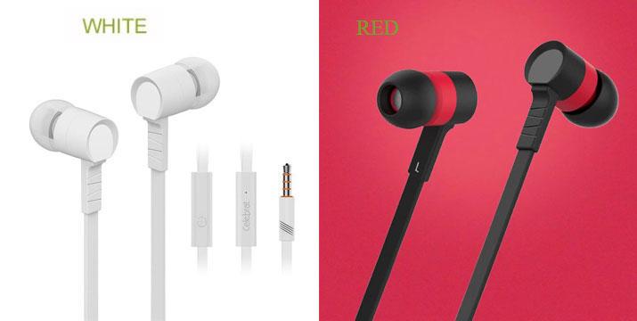 8,90€ από 12,90€ για ένα Ζευγάρι Ακουστικά Ηands Free με μικρόφωνο, από την DoneDeals Goods με ΔΩΡΕΑΝ πανελλαδική αποστολή στο χώρο σας.
