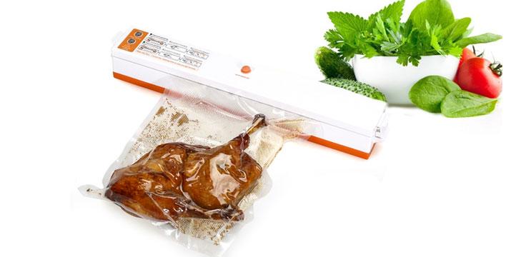 """22,90€ από 35€ για μια Συσκευή Αεροστεγούς Σφραγίσματος Τροφίμων κενού αέρος για να έχετε πάντα φρέσκα τρόφιμα, με παραλαβή ή δυνατότητα πανελλαδικής αποστολής στο χώρο σας από το """"Idea Hellas"""" στη Νέα Ιωνία. εικόνα"""
