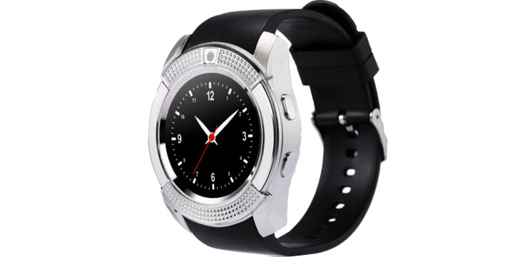 16,90€ από 32,90€ για ένα Smartwatch  V8  Κινητό Τηλέφωνο με Οθόνη Αφής, SIM & Camera, με παραλαβή από την Idea Hellas και δυνατότητα πανελλαδικής αποστολής στο χώρο σας.