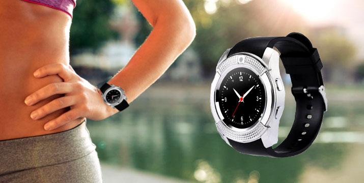 16,90€ από 32,90€ για ένα Smartwatch V8 Κινητό Τηλέφωνο με Οθόνη Αφής, SIM & Camera, με παραλαβή από την Idea Hellas και δυνατότητα πανελλαδικής αποστολής στο χώρο σας. εικόνα