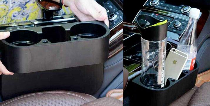 9,90€ για μια Βάση με Διπλή Ποτηροθήκη για το αυτοκίνητο για τη στήριξη των αναψυκτικών ή των μπουκαλιών σας κατά την οδήγηση, από την DoneDeals Goods με ΔΩΡΕΑΝ πανελλαδική αποστολή στο χώρο σας.
