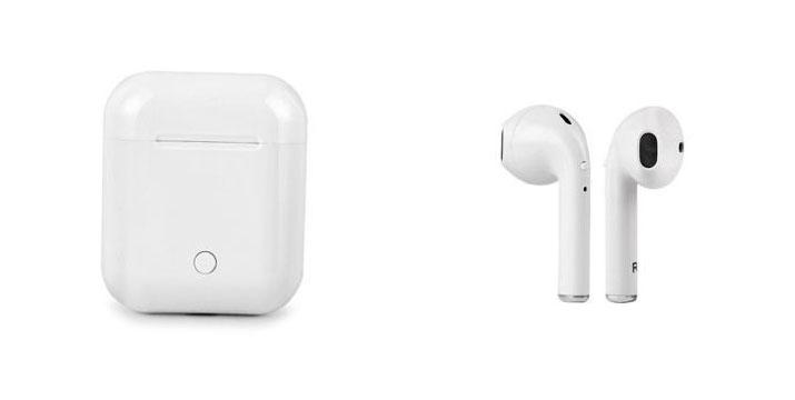"""27,90€ για ένα ζευγάρι Ασύρματα Ακουστικά Bluetooth hbq i8 small για iphone, με παραλαβή ή δυνατότητα πανελλαδικής αποστολής στο χώρο σας από το """"Idea Hellas"""" στη Νέα Ιωνία. εικόνα"""