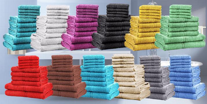 32,90€ από 59,90€ (-45%) για ένα Σετ με 10 πετσέτες Dickens από 100% Αιγυπτιακό Βαμβάκι σε 12 χρώματα, από την DoneDeals Goods με ΔΩΡΕΑΝ πανελλαδική αποστολή στο χώρο σας. εικόνα