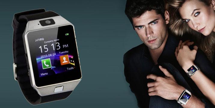 23,90€ από 46,90€ (-49%) για ένα Smart Watch Κινητό Τηλέφωνο με οθόνη αφής, SIM και Camera, με παραλαβή από το κατάστημα Magic Hole στο Παγκράτι και με δυνατότητα πανελλαδικής αποστολής. εικόνα