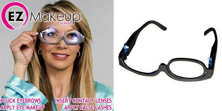 9,90€ από 17,90€ για Γυαλιά για το Μακιγιάζ με Μεγεθυντικό Φακό x3 και LED, με δυνατότητα παραλαβής και πανελλαδικής αποστολής στο χώρο σας από την DoneDeals Goods. εικόνα