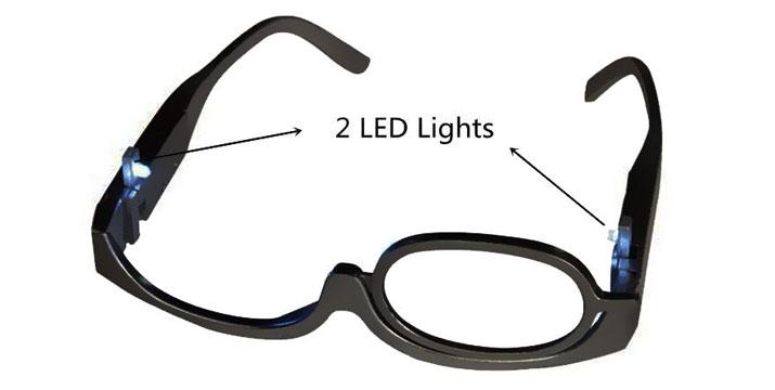 9,90€ από 17,90€ για Γυαλιά για το Μακιγιάζ με Μεγεθυντικό Φακό x3 και LED, με δυνατότητα παραλαβής και πανελλαδικής αποστολής στο χώρο σας από την DoneDeals Goods.