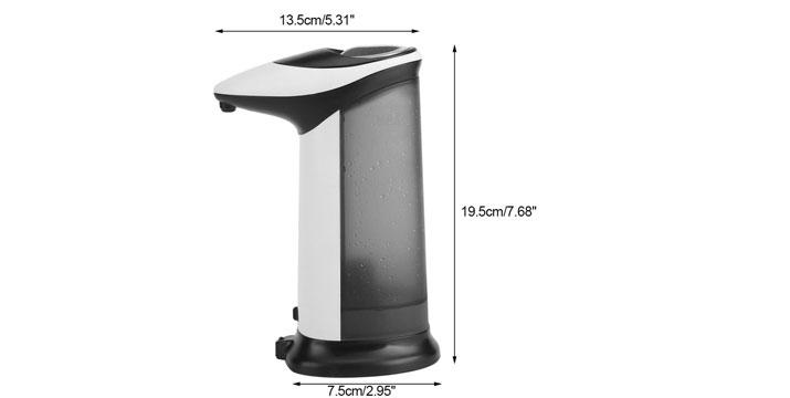 12,90€ από 19,90€ για ένα Αυτόματο Δοχείο Σαπουνιού 420ml με Αισθητήρα Κίνησης, με δυνατότητα παραλαβής και πανελλαδικής αποστολής στο χώρο σας από την DoneDeals Goods.