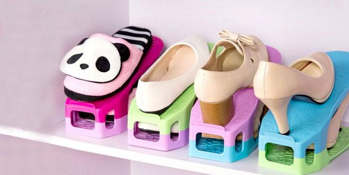 8,90€ από 16,90€ για ένα Σετ Θήκες Οργάνωσης Παπουτσιών για 4 Ζευγάρια, με δυνατότητα παραλαβής και πανελλαδικής αποστολής στο χώρο σας από την DoneDeals Goods.