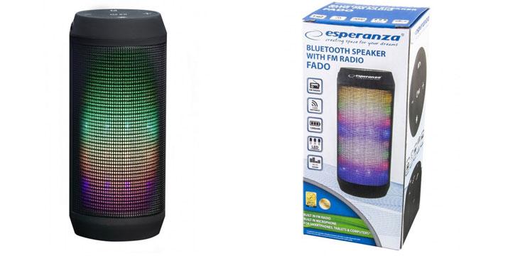 19,90€ από 39,90€ (-50%) για ένα Φορητό Ηχείο Bluetooth με LED Φωτισμό, με δυνατότητα παραλαβής και πανελλαδικής αποστολής στο χώρο σας από την DoneDeals Goods.