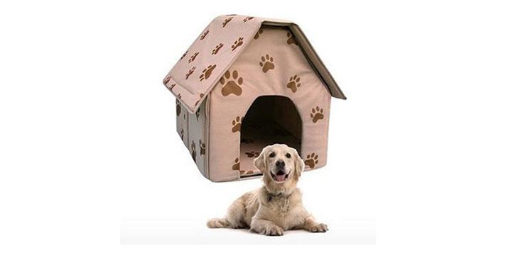15,90€ από 30,20€ (-47%) για ένα Φορητό και Αναδιπλούμενο Σπιτάκι για σκύλους και γάτες, φτιαγμένο από μαλακό και ζεστό ύφασμα που πλένεται και καθαρίζεται πανεύκολα, με παραλαβή από το