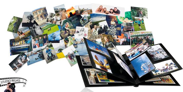 Από 9,90€ για Εκτύπωση Φωτογραφιών και Δώρο Μεγεθύνσεις σε επαγγελματικό χαρτί 10x15cm (ματ ή γυαλιστερό), από το Studio Rigas στην Πεύκη. εικόνα