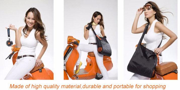 6,50€ από 11,50€ για μια Τσάντα για Ψώνια που Διπλώνει σε Ρολό σε 2 χρώματα, με δυνατότητα παραλαβής και πανελλαδικής αποστολής στο χώρο σας από την DoneDeals Goods. εικόνα