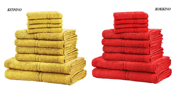 29,90€ από 59,90€ (-50%) για ένα Σετ με 10 πετσέτες Dickens από 100% Αιγυπτιακό Βαμβάκι σε 12 χρώματα, με δυνατότητα παραλαβής και πανελλαδικής αποστολής στο χώρο σας από την DoneDeals Goods.