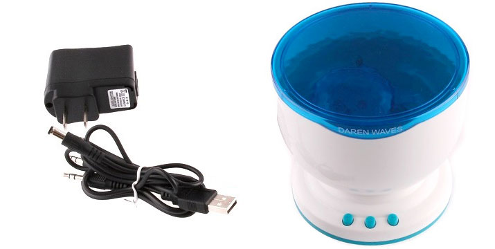 """14,90€ από 24,90€ για έναν Projector με Θαλάσσια Κύματα & Ήχο, με παραλαβή ή δυνατότητα πανελλαδικής αποστολής στο χώρο σας από το """"Idea Hellas"""" στη Νέα Ιωνία."""