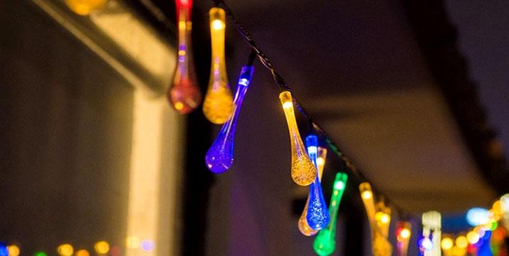 14,90€ από 26,90€ για 20 Ηλιακούς Πολύχρωμους Λαμπτήρες LED Raindrop, με δυνατότητα παραλαβής και πανελλαδικής αποστολής στο χώρο σας από την DoneDeals Goods.