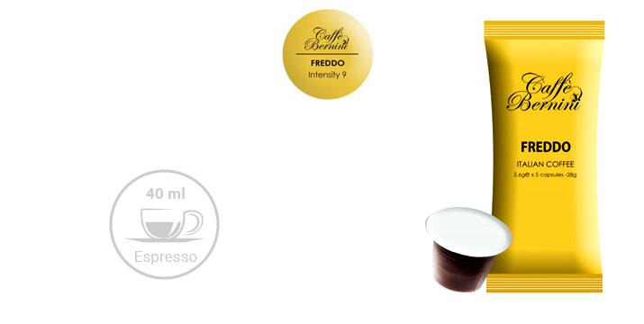 Από 13,90€ για Κάψουλες Bernini Caffe Freddo συμβατές με μηχανές Nespresso σε συσκευασία 50 ή 100 Τεμαχίων, με δυνατότητα παραλαβής και πανελλαδικής αποστολής στο χώρο σας από την DoneDeals Goods.