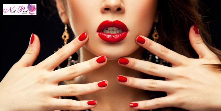 """10€ από 22€ (-55%) για ένα ολοκληρωμένο Manicure με Ημιμόνιμη Βαφή επιλογής από απλό ή γαλλικό με δυνατότητα επιλογής ανάμεσα σε πολλά χρώματα, με ειδική προστασία ενάντια στη UV ακτινοβολία, στο νέο ανανεωμένο χώρο αισθητικής άκρων """"Nail Point Salon"""" στo Κέντρο της Αθήνας."""