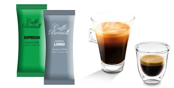 20,90€ από 39,90 για 100 Κάψουλες Bernini Caffe Mix Espresso και Lungo για μηχανές Nespresso, με δυνατότητα παραλαβής και πανελλαδικής αποστολής στο χώρο σας από την DoneDeals Goods.