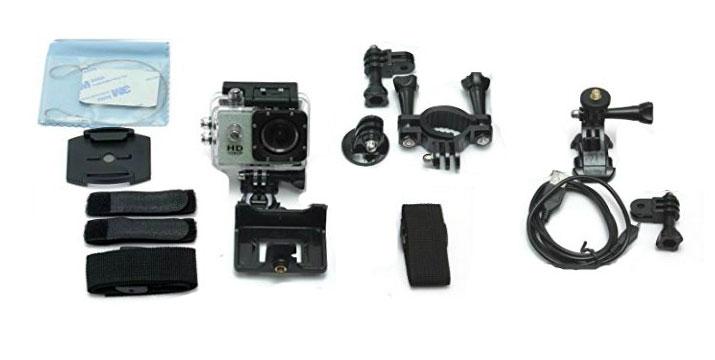 29,90€ από 39,90€ για μία Αδιάβροχη Κάμερα Δράσης (action camera) με υψηλή HD ανάλυση 720p, 15 αξεσουάρ στήριξης και με ισχυρή μπαταρία 900mAh που επαρκεί για 1,5 ώρα συνεχούς λήψης, ανθεκτική σε κραδασμούς και ιδανική για τους φίλους των extreme sports, σε 4 χρώματα, με παραλαβή ή δυνατότητα πανελλαδικής αποστολής στο χώρο σας από την Idea Hellas στη Νέα Ιωνία.