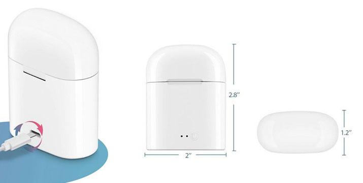 19,90€ από 39,90€ για ένα σετ Ασύρματα Ακουστικά Bluetooth με Θήκη Φόρτισης της General χωρίς καλώδιο, με ειδικό σχεδιασμό ώστε να μένουν πάντα σταθερά στο αυτί και 2 Χρόνια Εγγύηση, με δυνατότητα παραλαβής και πανελλαδικής αποστολής στο χώρο σας από την DoneDeals Goods.