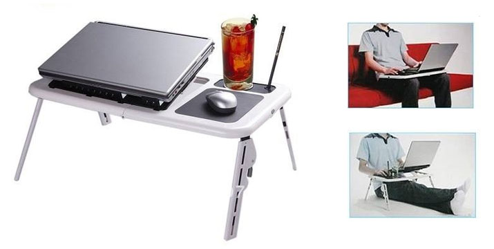 15,90€ από 29,90€ για ένα Τραπεζάκι Laptop με 2 Ανεμιστήρες Ψύξης, με παραλαβή από το κατάστημα Magic Hole στο Παγκράτι και με δυνατότητα πανελλαδικής αποστολής. εικόνα