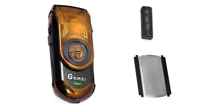 9,90€ από 16,90€ για μια Επαναφορτιζόμενη Ηλεκτρική Ξυριστική Μηχανή για γένια κοντύτερα των 2 ημερών, με δυνατότητα παραλαβής και πανελλαδικής αποστολής στο χώρο σας από την DoneDeals Goods.