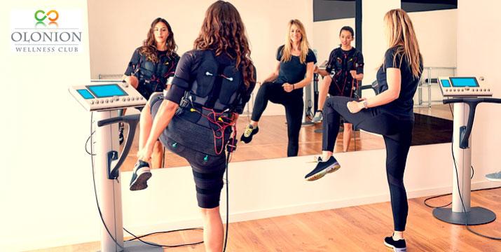 14€ από 30€ για 1 προπόνηση Miha-Bodytec ή 27€ από 60€ για 2 προπονήσεις Miha-Bodytec ή 49€ από 120€ για 4 προπονήσεις Miha-Bodytec, στο Olonion Wellness Club στους Αγίους Αναργύρους.