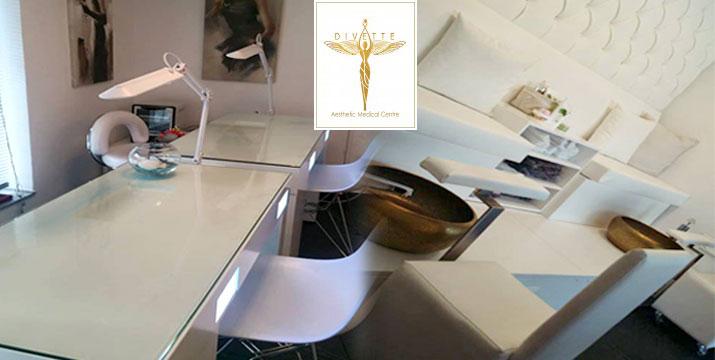 Από 10,90€ για 1 Ολοκληρωμένο Manicure ή 1 Ολοκληρωμένο Pedicure με απλή ή ημιμόνιμη βαφή, στον πολυχώρο του Divette Aesthetic Medical Centre στην Γλυφάδα.