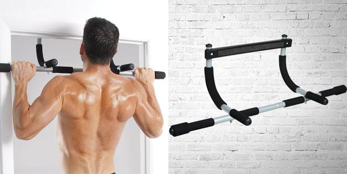 """8,90€ για ένα Μονόζυγο Πόρτας Iron Gym, το σύστημα εκγύμνασης πολλαπλών χρήσεων που γυμνάζει και δυναμώνει τους μύες του στήθους, των χεριών, των ώμων, της πλάτης και τους κοιλιακούς μύες, με παραλαβή ή δυνατότητα πανελλαδικής αποστολής στο χώρο σας από το """"Idea Hellas"""" στη Νέα Ιωνία"""