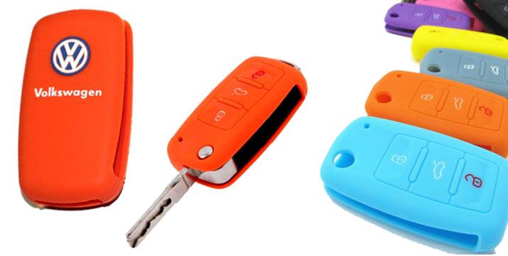 """2,50€ για ένα Προστατευτικό Κάλυμμα Κλειδιών Volkswagen VW σε διάφορα χρώματα, με παραλαβή ή δυνατότητα πανελλαδικής αποστολής στο χώρο σας από το """"Idea Hellas"""" στη Νέα Ιωνία. εικόνα"""