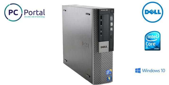 229€ από 380€ (-40%) για έναν Desktop Υπολογιστή Dell OptiPlex 980 i5 με Microsoft Windows 10 Pro και 2 Χρόνια Εγγύηση (Refurbished Προϊόν), με ΔΩΡΕΑΝ πανελλαδική αποστολή από το κατάστημα PC Portal. εικόνα