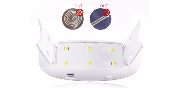 21,90€ από 29,90€ για ένα Φορητό Φουρνάκι Νυχιών  - Λάμπα UV 6w με USB 45s/60s για ημιμόνιμο μανικιούρ, από την DoneDeals Goods με ΔΩΡΕΑΝ πανελλαδική αποστολή στο χώρο σας.