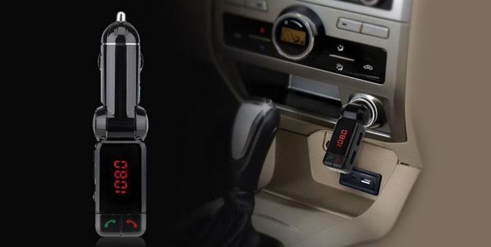 15,90€ από 32,90€ (-52%) για ένα Bluetooth Car Kit για Ανοιχτή Συνομιλία στο Αυτοκίνητο & Διπλός USB Φορτιστής για κινητά και tablets, με παραλαβή από το κατάστημα Magic Hole στο Παγκράτι και με δυνατότητα πανελλαδικής αποστολής. εικόνα