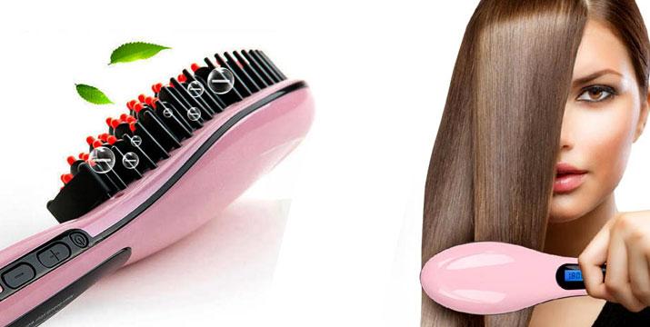 10,50€ από 55€ (-80%) για μια Θερμαινόμενη Βούρτσα Ισιώματος Μαλλιών με LCD οθόνη, ένα πρωτοποριακό εργαλείο για ταχύτατο styling και ίσιωμα των μαλλιών με 1 κίνηση, με παραλαβή ή δυνατότητα πανελλαδικής αποστολής στο χώρο σας από την Idea Hellas στη Νέα Ιωνία.