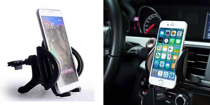 8,90€ από 13,90€ για μια Βάση Στήριξης Smartphone για τον αεραγωγό του αυτοκινήτου, από την DoneDeals Goods με ΔΩΡΕΑΝ πανελλαδική αποστολή στο χώρο σας. εικόνα