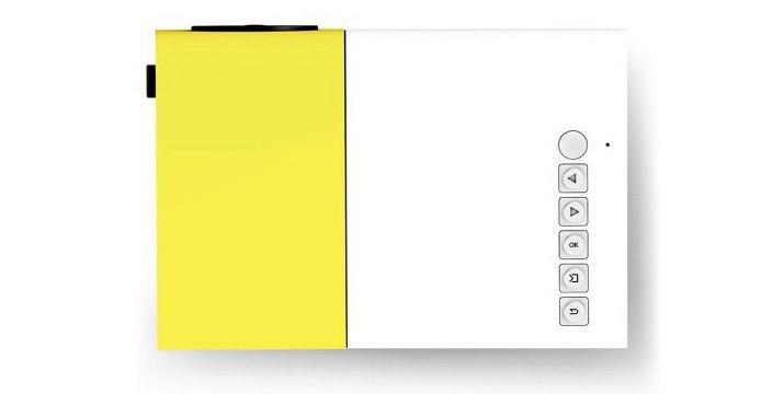 55€ από 78,90€ για έναν έναν LED Προτζέκτορα Home Cinema 600 Lumens YG-310 με ρυθμιστή εστίασης Focus, ενσωματωμένα ηχεία για Home Cinema, μέγεθος προβολής 60″, υποδοχή για Κάρτα Μνήμης, με USB στικάκι και μπαταρία αυτονομίας 3 ωρών, με παραλαβή ή δυνατότητα πανελλαδικής αποστολής στο χώρο σας από το Idea Hellas στη Νέα Ιωνία.