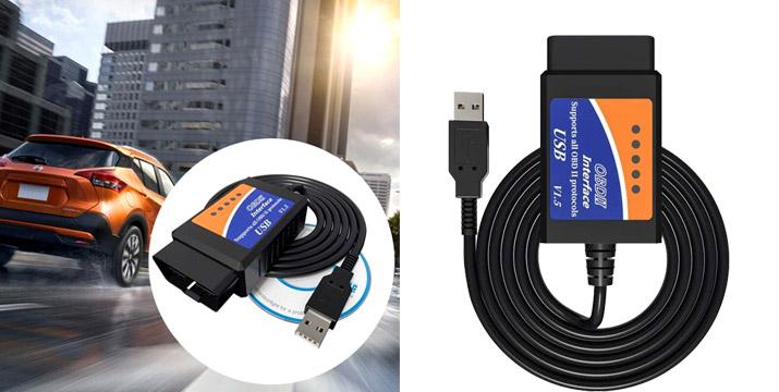 15,90€ από 24,90€ για ένα Διαγνωστικό Βλαβών Αυτοκινήτου OBD2 με USB, με δυνατότητα παραλαβής και πανελλαδικής αποστολής στο χώρο σας από την DoneDeals Goods. εικόνα