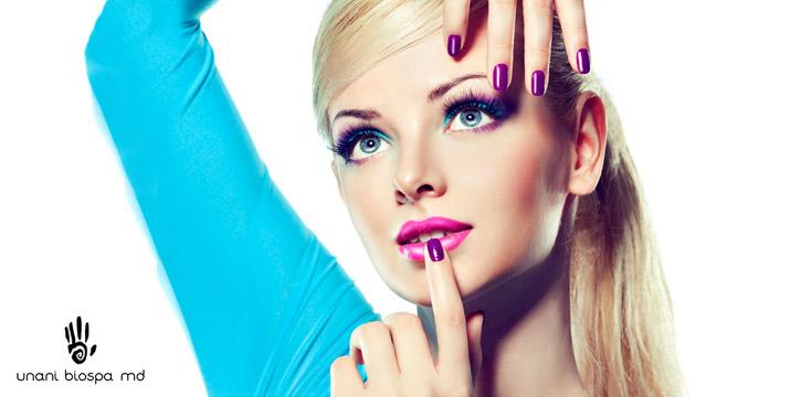 8€ από 40€ (-80%) για ένα Πακέτο Περιποίησης που περιλαμβάνει ένα (1) Spa Manicure ή ένα Spa Pedicure με ημιμόνιμη βαφή, απλό ή γαλλικό και ΔΩΡΟ μία (1) Αποτρίχωση Άνω Χείλους, έναν (1) Καθαρισμό Φρυδιών ΚΑΙ ένα (1) Διαγνωστικό Τεστ Προσώπου Skin Scanner, στο νέο υπέροχο χώρο του Unani Biospa MD στον Γέρακα. εικόνα