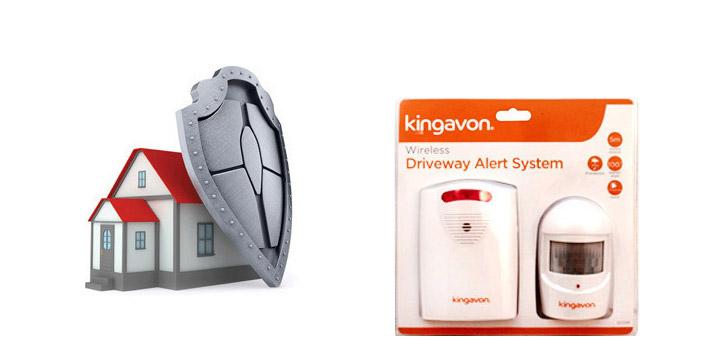 20,90€ από 29,90€ για έναν Ασύρματο Συναγερμό με Ανιχνευτή Κίνησης Kingavon και 2 Χρόνια Εγγύηση καλής λειτουργίας, με δυνατότητα παραλαβής και πανελλαδικής αποστολής στο χώρο σας από την DoneDeals Goods.