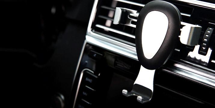 6,90€ από 12,90€ (-46%) για μια Βάση Στήριξης Κινητού για τον αεραγωγό του αυτοκινήτου σε μαύρο και ασημί χρώμα, με δυνατότητα παραλαβής και πανελλαδικής αποστολής στο χώρο σας από την DoneDeals Goods.