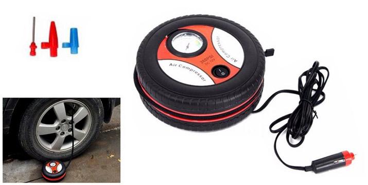 17,90€ από 25,90€ για μια Φορητή Ηλεκτρική Τρόμπα Αυτοκινήτου με 3 προσαρμογείς για τα ακροφύσια και 5 εξαρτήματα για το σκουπάκι, με δυνατότητα παραλαβής και πανελλαδικής αποστολής στο χώρο σας από την DoneDeals Goods. εικόνα