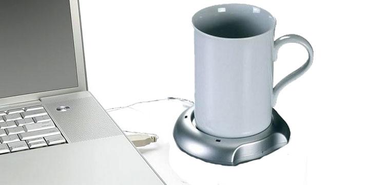 4,30€ από 9,30€ (-53%) για μια Θερμαινόμενη Βάση για κούπες & Εστία USB, που διατηρεί πάντα ζεστό το αγαπημένο σας ρόφημα όσο δουλεύετε στον υπολογιστή,  με παραλαβή από την Idea Hellas και δυνατότητα πανελλαδικής αποστολής στο χώρο σας.