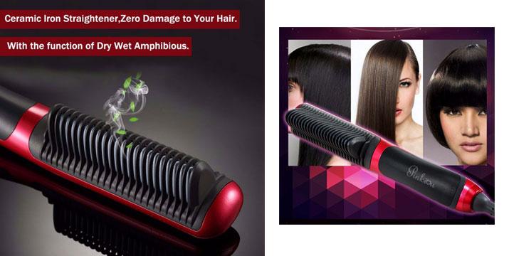 14,90€ από 20,90€ για μια Θερμαινόμενη Χτένα Ισιώματος Μαλλιών με οθόνη LCD, με δυνατότητα παραλαβής και πανελλαδικής αποστολής στο χώρο σας από την DoneDeals Goods.