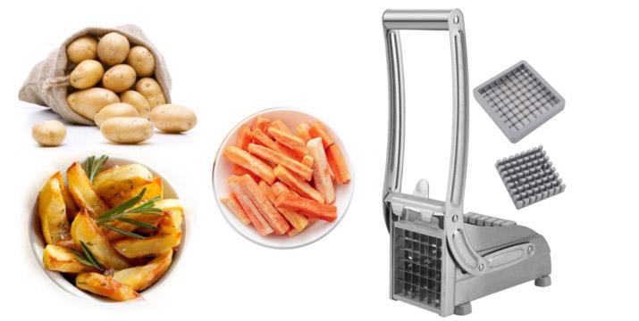 15,90€ από 24,90€ για έναν Ανοξείδωτο Κόφτη για Πατάτες, με δυνατότητα παραλαβής και πανελλαδικής αποστολής στο χώρο σας από την DoneDeals Goods.