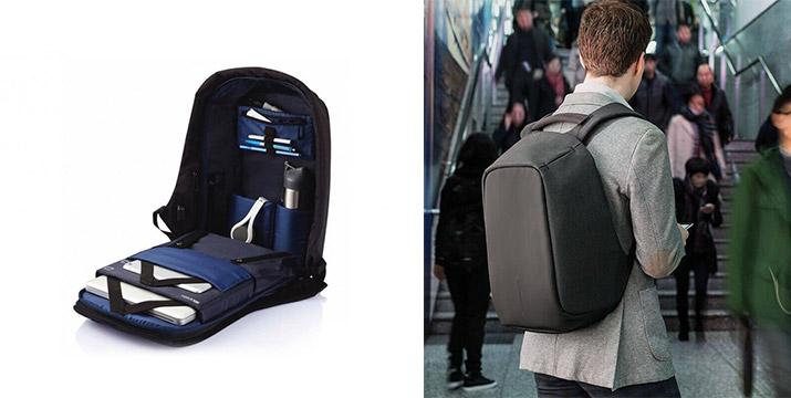 """19,90€ από 75€ (-73%) για ένα Αντικλεπτικό Σακίδιο Πλάτης με θύρα USB σε μαύρο χρώμα, με παραλαβή ή δυνατότητα πανελλαδικής αποστολής στο χώρο σας από το """"Idea Hellas"""" στη Νέα Ιωνία."""