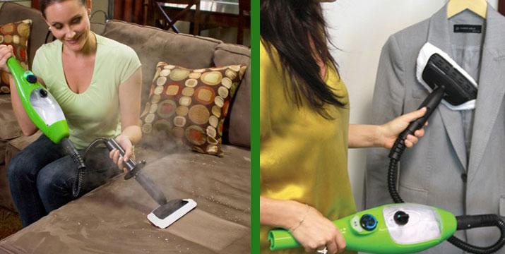 """39,90€ από 120€ (-67%) για μία εύχρηστη Σκούπα Ατμού με 5 διαφορετικές εκπληκτικές εφαρμογές: καθαρίζει το πάτωμα, τα χαλιά, πλένει τα παράθυρα, τα είδη υγιεινής καθώς και τα ρούχα σας, με παραλαβή ή δυνατότητα πανελλαδικής αποστολής στο χώρο σας από το """"Idea Hellas"""" στη Νέα Ιωνία."""