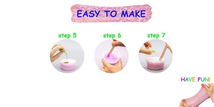 6,50€ από 11,50€ για ένα Κιτ Χλαπάτσα Slime DIY - Ροζ για να φτιάξετε τη δική σας χλαπάτσα, με δυνατότητα παραλαβής και πανελλαδικής αποστολής στο χώρο σας από την DoneDeals Goods.