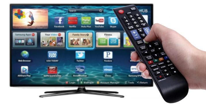 """5,90€ από 12,90€ για ένα Τηλεχειριστήριο Τηλεόρασης συμβατό με όλες τις τηλεοράσεις Samsung Smart TV, LCD, LED TV, που λειτουργεί απευθείας μόλις τοποθετηθούν οι μπαταρίες και ΔΩΡΟ τις μπαταρίες, με παραλαβή ή δυνατότητα πανελλαδικής αποστολής στο χώρο σας από το """"Idea Hellas"""" στη Νέα Ιωνία."""